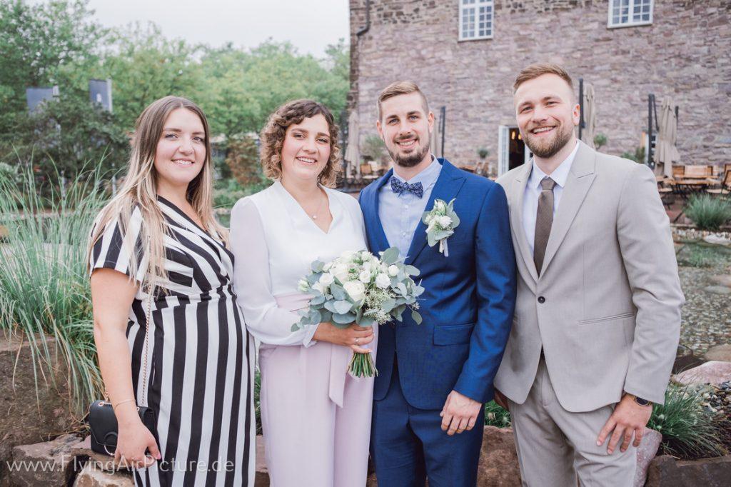 Hochzeitsbilder Burg Beverungen